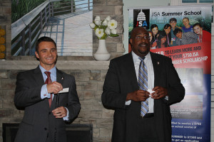 Dan Meyers and Jeff Harris host JSA Event