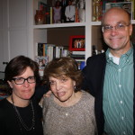 Kara Swisher, birthday mom Lucky and Mike Allen of Politico