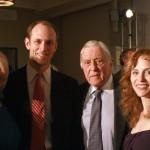 Sally Quinn, Austan Goolsbee, Ben Bradlee and Robin Goolsbee 2011