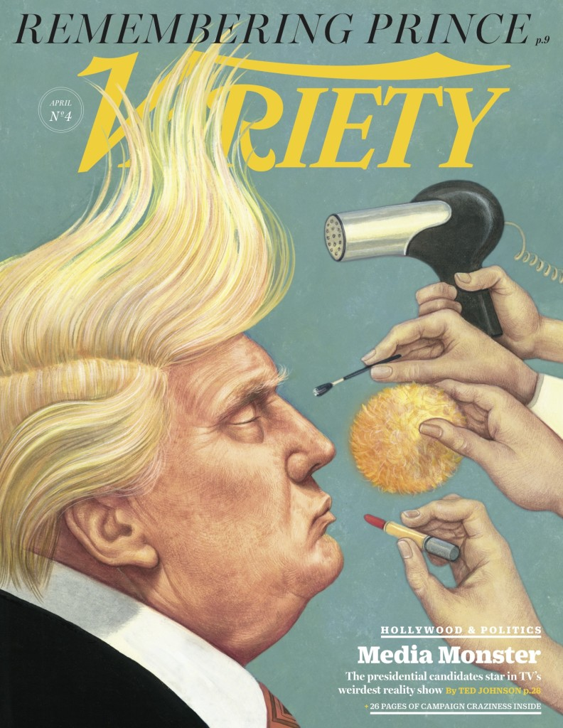 Variety Magazine Cover --April 2016