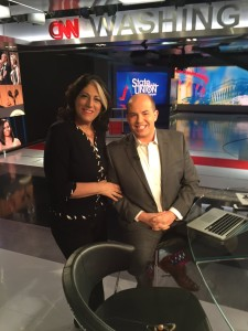 Tammy Haddad and Brian Stelter
