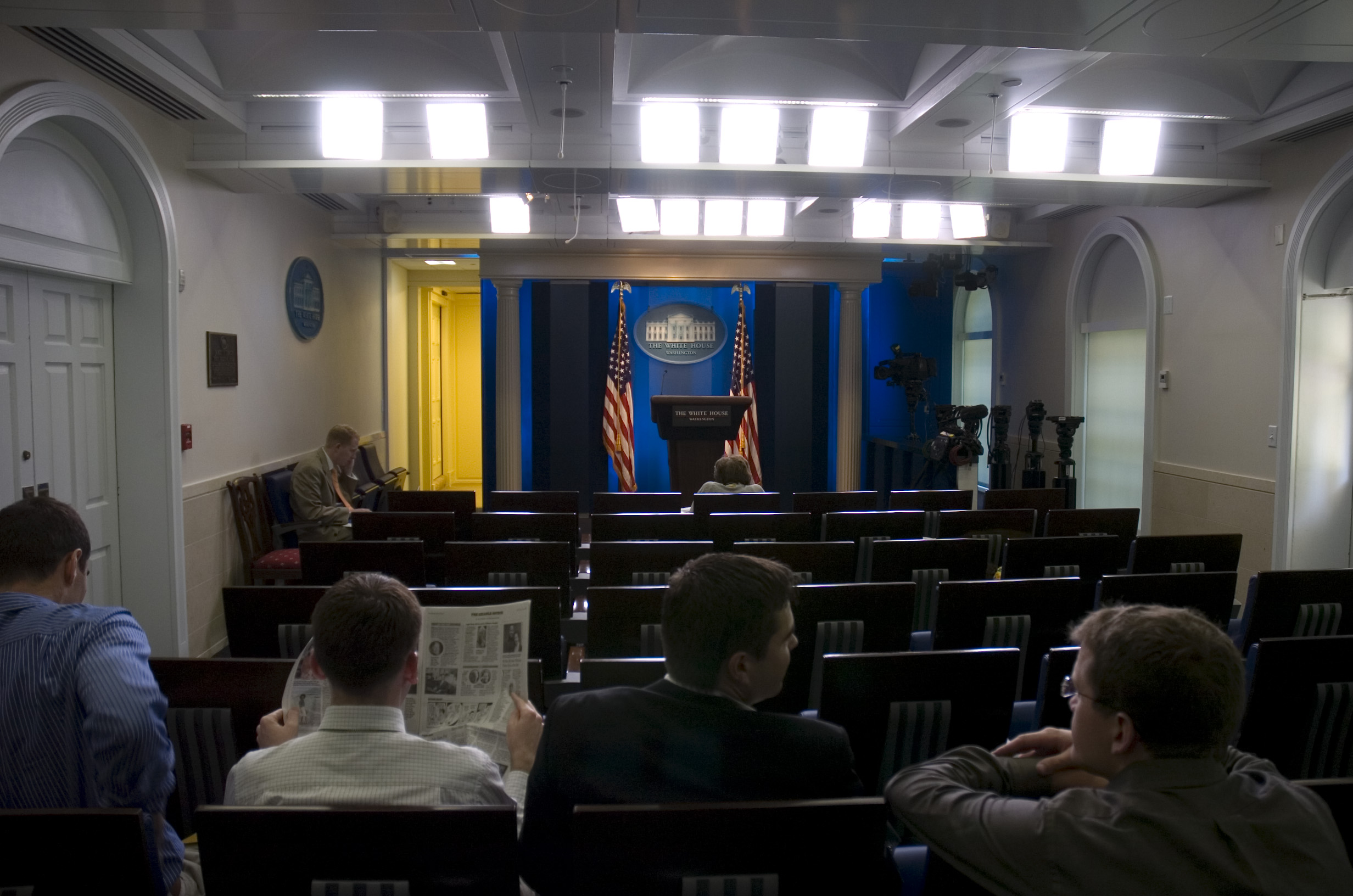 Image result for White House Press conference