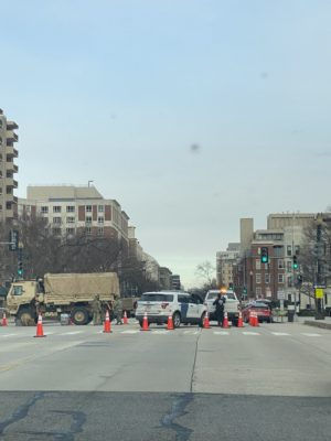 Army, Nat. Guard Secured DC