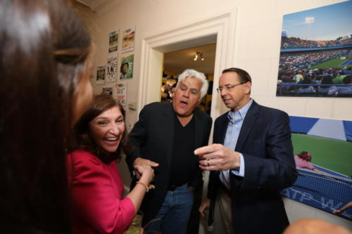 jay-leno-with-rod-rosenstein-and-wife-lisa 33845670398 o